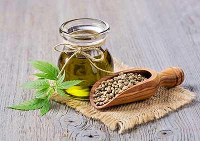 hemp seed oil and hemp seeds